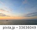 バリ島の夜明け 33636049