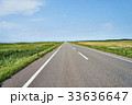 オロロンライン 道路 夏の写真 33636647