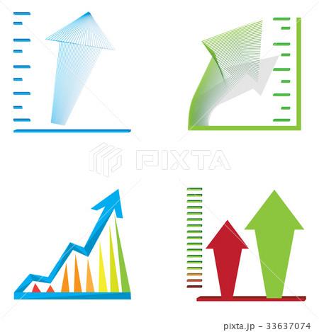 Business graph barsのイラスト素材 [33637074] - PIXTA