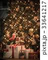 クリスマスツリー クリスマス プレゼントの写真 33641217
