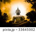 Big Buddha and light 33645002