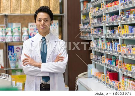薬剤師 薬局 ドラッグストア 医療 イメージ 33653975