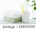 歯ブラシ 歯磨き デンタルケアの写真 33654595