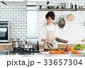 料理 調理 主婦の写真 33657304