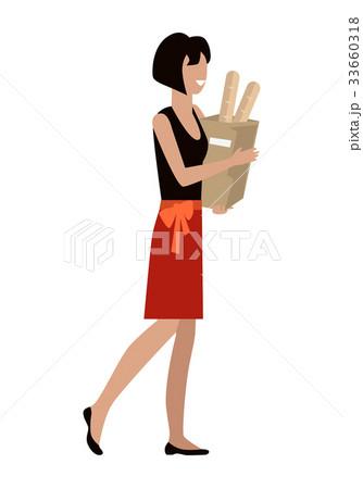 Woman Daily Shopping 33660318
