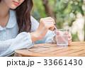 女子高生 高校生 jk 大学生 待ち合わせ 一人 かわいい きれい 美しい ロング カフェ 手元 33661430