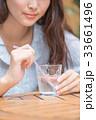女子高生 高校生 jk 大学生 待ち合わせ 一人 かわいい きれい 美しい ロング カフェ 手元 33661496