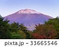 富士山 初冠雪 夜明けの写真 33665546
