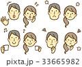 表情 カップル 人物のイラスト 33665982