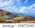 蔵王 御釜 火口湖の写真 33673240