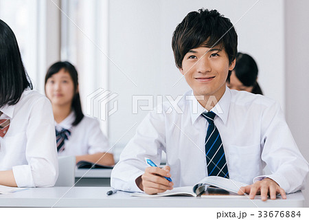 10代 中高生 学習イメージ 33676884