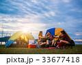 群れ キャンプ 野営の写真 33677418