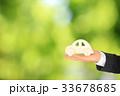 車と緑のエコカー Automobile, car and ecology 33678685