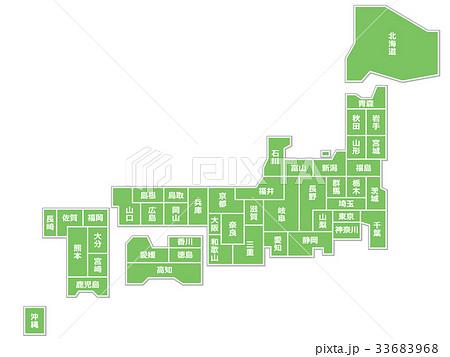 日本地図 33683968
