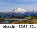 残雪の鳥海山 33684621