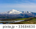 長谷池と鳥海山 33684630