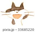 猫 動物 顔のイラスト 33685220