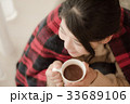 笑顔 女性 冬の写真 33689106