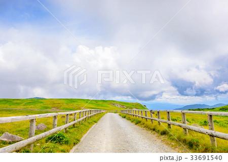 高原の風景、長野県、美ヶ原高原。 33691540