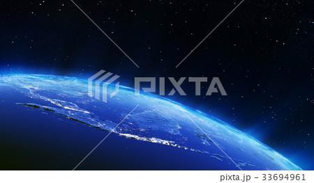 Indonesia city lights 3d rendering 33694961