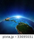 中央アメリカ プラネット 惑星のイラスト 33695031