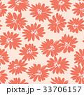 マーガレット 花 花柄のイラスト 33706157