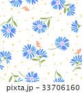 マーガレット 花 花柄のイラスト 33706160