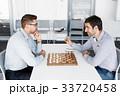 チェス 遊び 遊ぶの写真 33720458