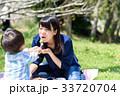 ピクニック 親子 昼食の写真 33720704