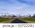アイス 草原 風景の写真 33722281