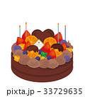 チョコレートケーキ イラスト 33729635