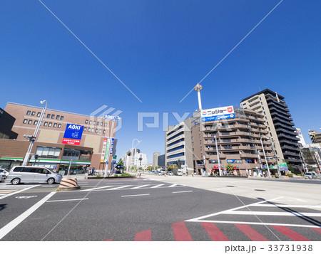 名古屋市昭和区 都市風景 御器所...