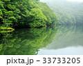 水鏡 霧 蔦沼の写真 33733205