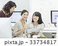 女性 ビジネスウーマン 人物の写真 33734817