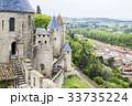 歴史的城塞都市カルカソンヌと城下町 33735224