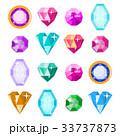 宝石 貴石 きらめきのイラスト 33737873