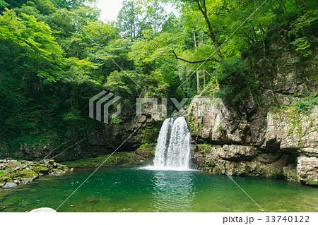 夏の三段峡(二段滝)(広島県安芸太田町) 33740122