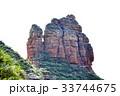 シルクロードの要衝、中国甘粛省炳霊寺の奇岩、ラクダ岩 33744675