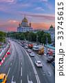 Traffic around Cathedral of Christ the Savior 33745615