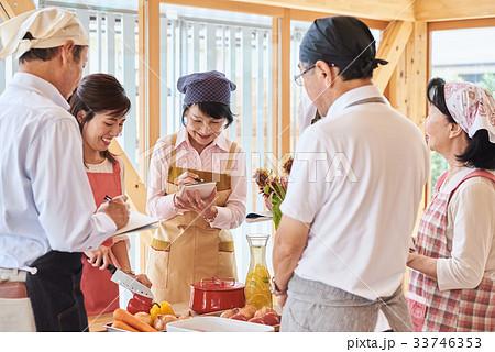 シニア 料理教室 33746353