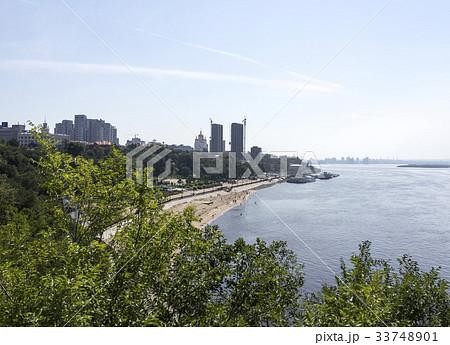 高層ビル ロシアの アムール川 33748901