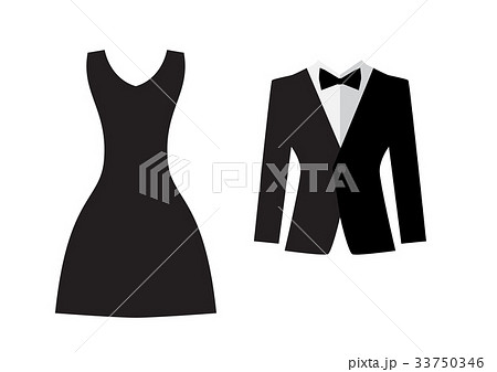 Dress and suit icon isolatedのイラスト素材 [33750346] - PIXTA