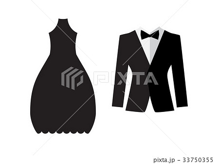 Dress and suit icon isolatedのイラスト素材 [33750355] - PIXTA