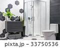 浴室 近代的 モダンの写真 33750536