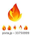 火 アイコン イコンのイラスト 33750999