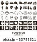食品 アイコン セット 33758621
