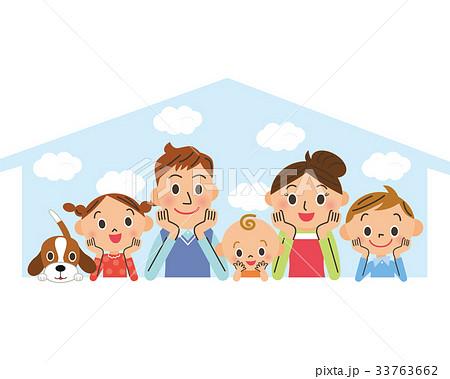 幸せ家族とマイホーム 33763662