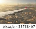 飛行機 翼 空の写真 33768407
