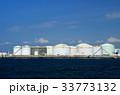 千葉港 タンク 海の写真 33773132
