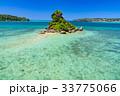 晴れ 沖縄 古宇利島の写真 33775066